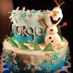 sabsy's cake dreams: Frozen taart cake