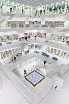 Biblioteca Pública de Stuttgart - Stuttgart Public Library