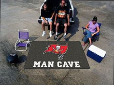 NFL - Tampa Bay Buccaneers Man Cave UltiMat Rug 5'x8'