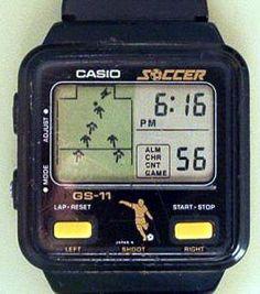 Casio Soccer (19??, LCD, Watch batteries, Model# GS-11).