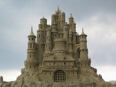 château de sable- sand castle