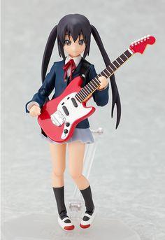 figma figures | Figma 061 K-On! NAKANO AZUSA Action Figure | UK Anime Figures & Toys