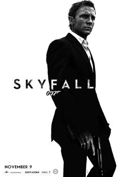 Check out Daniel Craig as James Bond Skyfall Movie Poster Photos. More images and updates from skyfall on Rediff Pages James Bond Skyfall, New James Bond, James Bond Movies, Craig Bond, Daniel Craig James Bond, Craig 007, Great Films, Good Movies, Love Movie
