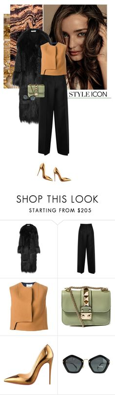 """""""Untitled #1438"""" by hil4ry ❤ liked on Polyvore featuring Kerr®, STELLA McCARTNEY, Valentino, 3.1 Phillip Lim, Christian Louboutin, Miu Miu, women's clothing, women's fashion, women and female"""