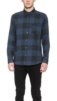 0ccf3c77129 Cheap Monday Neo Flannel Shirt Cheap Shirts