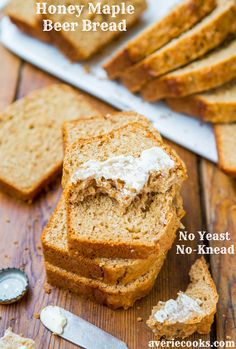 Honey Maple Beer Bread