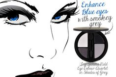 Eye Color tips for us blue-eyed ladies!
