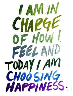 I, not events, have the power to make me happy or unhappy today. I can choose which it shall be. Yesterday is dead, tomorrow hasn't arrived yet. I have just one day, today, and I'm going to be happy in it. ~ Groucho Marx. https://www.facebook.com/positivepeople1?fref=nf