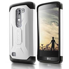 Evocel® LG Escape 2 / Spirit H443 Case [X-Generation Series] Slim Fit Dual Layer Design Hybrid Armor Protective Case For LG Escape 2 / LG Spirit H443 (AT&T / Cricket) - Retail Packaging, White Evocel http://www.amazon.com/dp/B010QUNWN0/ref=cm_sw_r_pi_dp_l5dLwb1MMD8BK