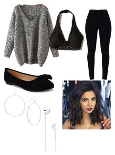 """"""""""" by headingtotheclouds on Polyvore featuring WithChic, Hollister Co. and Gorjana"""