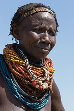 Africa | Woman from the Nyangatom tribe.  Southern Ethiopia | © Johan Gerrits