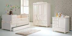 beyaz renk sade bebek odası mobilyası #bebekodası #bebekodaşimobilya #bebekmobilyaları #dekorasyon #mobilya