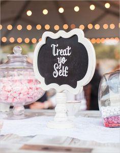 #desserttable #dessertsign @weddingchicks