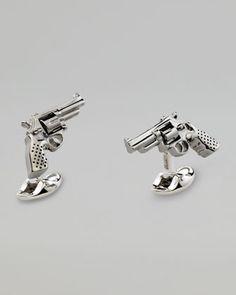 Revolver Cuff Links by Deakin & Francis