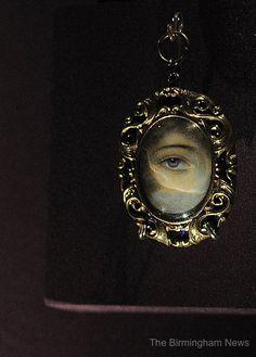 Birmingham museum - Lover's Eye jewelry