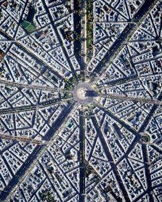 Paris Architecture Jobs, Landscape Architecture, Paris France, France City, Aerial Photography, Travel Photography, Image Of The Day, Champs Elysees, Bastille