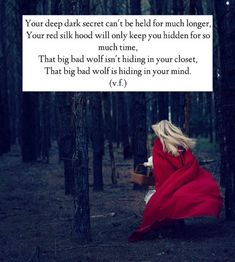 red riding hood quotes - Google Search