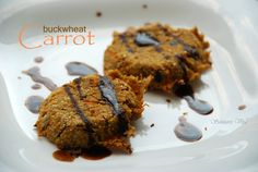 Coconut Carrot Buckwheat Cookies 2CBSV