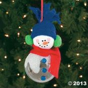 snow man  ornament