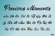 Precious Moments Font by Xerographer Fonts (Free) Free Fonts Download, Font Free, Script Fonts, Precious Moments, In This Moment, Cricket, Creativity, Ideas, Cricket Sport