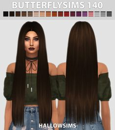 Sims: Butterfly`s 140 Haare retexturiert – Sims 4 Hairs – / … – sims 4 cc – Hallow Sims: Butterfly`s 140 Haare retexturiert - Sims 4 Hairs - / . - sims 4 cc - - -Hallow Sims: Butterfly`s 140 Haare retexturiert - Sims 4 Hairs - / . Sims 4 Mods, Sims 2, Sims Four, Sims Baby, Sims 4 Toddler, Packs The Sims 4, Sims 4 Black Hair, The Sims 4 Cabelos, Pelo Sims