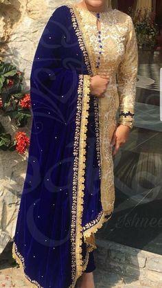 21 New Ideas Dress Designer Wedding Pakistani Neck Designs For Suits, Kurti Neck Designs, Kurti Designs Party Wear, Dress Neck Designs, Velvet Dress Designs, Pakistani Dress Design, Pakistani Dresses, Indian Dresses, Indian Outfits