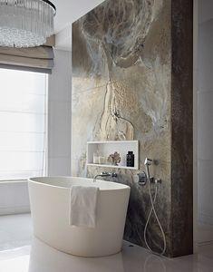 Bathroom feature bath tub wall st john s wood taylor howes bath bathroom feature howes johns st taylor tub wall wood Interior Design London, Luxury Interior Design, Bad Inspiration, Bathroom Inspiration, Dream Bathrooms, Beautiful Bathrooms, Small Luxury Bathrooms, Luxury Hotel Bathroom, Hotel Bathrooms