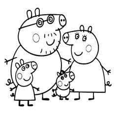 Leuk voor kids | Peppa het biggetje kleurplaten