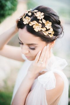Intimate Destination Tuscany Wedding Bursting With Romance Tiaras And Crowns, Wedding Attire, Bridal Accessories, Tuscany, Headpiece, Wedding Styles, Wedding Inspiration, Romance, Wedding Photography