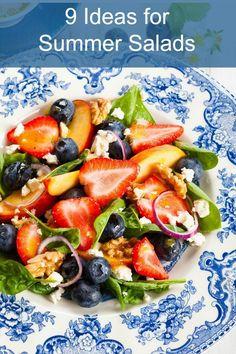 Summer Salad Ideas :: Healthy Eating