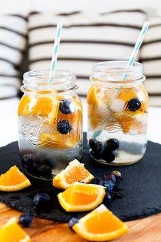Blueberry Orange Water – Infused Water, madisoncoco, yourdailytreat, onlinemagazin, kleidermädchen