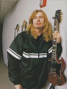 Dave Mustaine (August/1999/BURRN!)