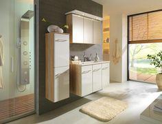 Ihr neues Badezimmer: Spiegelschrank und Waschbeckenunterschrank im Set!