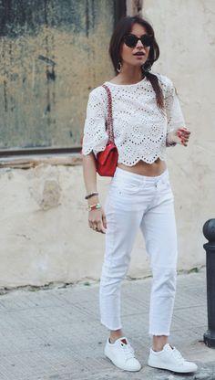 """Faça do """"crochet top"""" um """"crop top"""", como (Lizzy van der Ligt lizzyvanderligt.com)"""
