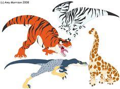 Wild animal dinosaurs - Bwahahahaha!