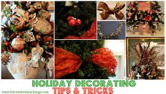 Easy Holiday Decorating Tips and Tricks.