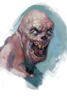 ArtStation - Sketches (monsters, zombies), Yerbol Bulentayev