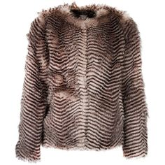 Morgan Faux Fur Coat (€110) ❤ liked on Polyvore featuring outerwear, coats, black, women, imitation fur coats, animal print coat, faux fur coat, animal print faux fur coat and fake fur coats