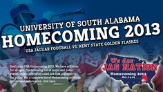 Our homecoming is just around the corner! Check out some of the fun events going on on campus this week, and don't forget to cheer on the Jags this weekend in our homecoming game against Kent State! #GoJags #WeAreJagNation