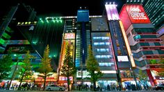 Akihabara By Night, Tokyo Guillaume Marcotte, All Rights Reserved.