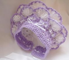 A very popular bonnet, i have made it many times.