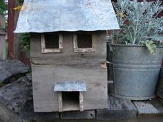 Sweet Liberty Homestead birdhouse