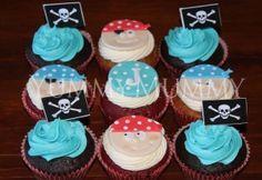 YM Pirate Cupcakes