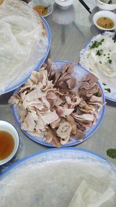 Banh hoi long heo in Phu Yen. Should enjoy this food when you visit Phu Yen, Viet Nam.