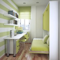 built in fold down bunk beds | Space-Saving Solutions for Kids and Teens - Fabulous Fold-Down