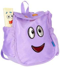 TOPSELLER! Dora the Explorer Map & Plush Backpack PURPLE $14.39