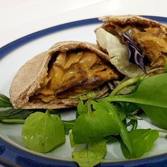 Your favourite restaurants may be closed but you can still enjoy an exotic taste of India with these sweet curried mackerel pitas. Theyre quick and simple and can be made from items in your cupboard and freezer. Quick Recipes, Fish Recipes, Mackerel Recipes, Soup And Sandwich, Dessert Drinks, Fish And Chips, Fish Dishes, Cooking Time, Cupboard