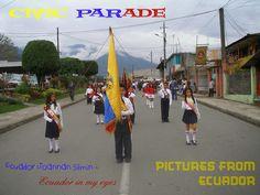 Ecuador Joannan silmin - Ecuador in my eyes: Civic Parade - Pictures from Ecuador