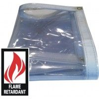 Fire Retardant Clear Vinyl Tarp Specifications Fire Retardant Meets Nfpa 701 Standards100 Waterproofheavy Duty Clear Ta Clear Vinyl Tarps Vinyl Patio Covers