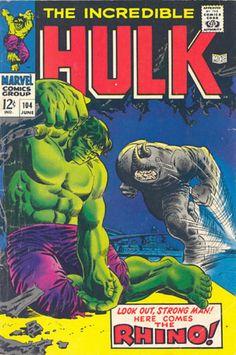 COMIC incredible hulk 104 #comic #cover #art